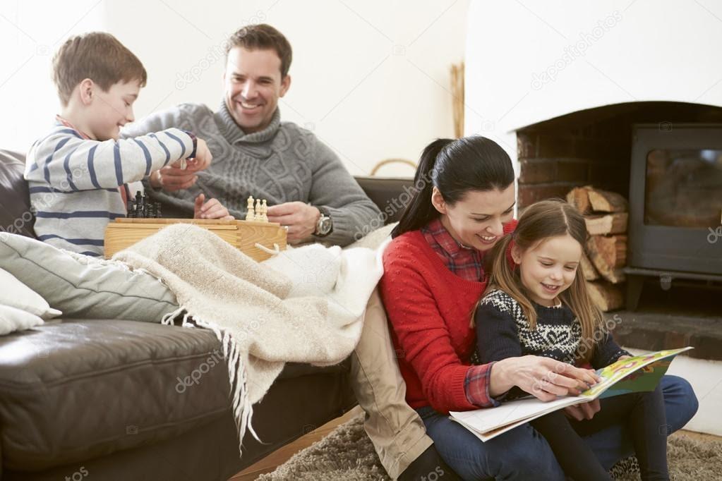 family in comfort temperaturepro air conditioning